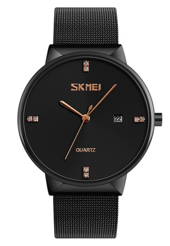 Digitec black Skmei - Jam Tangan Pria - Black - Stainless Steel - 9164-A 4FE70ACE1F9354GS_1