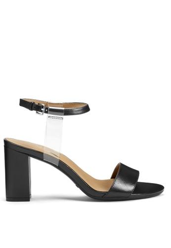Aerosoles black Waterbird Heeled Sandals CA2F1SH4A0C487GS_1