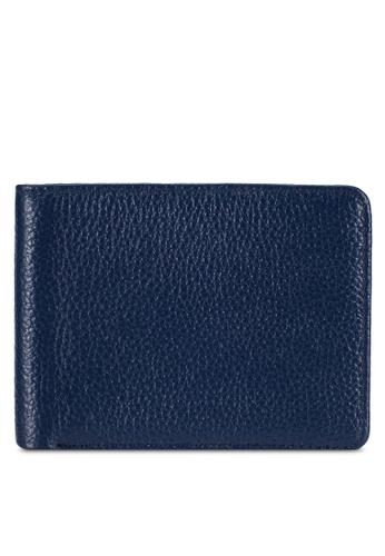 UniqTee blue Uniqtee RFID Blocking Bifold Wallet UN097AC0RFW2MY_1
