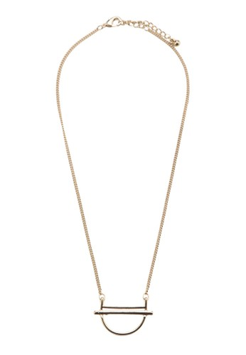 Seesprit服飾mi Circle Bar Necklace, 飾品配件, 項鍊