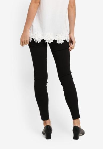 79d1cb82d0b7a4 Buy Dorothy Perkins Black Pull On Skinny Treggings Online on ZALORA  Singapore