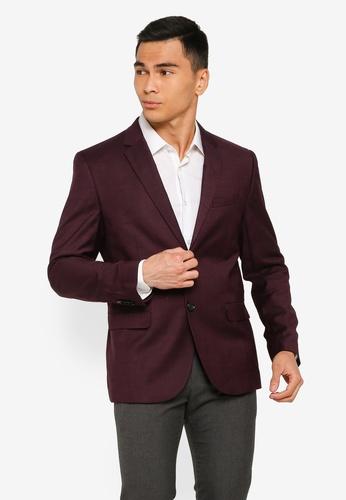 H&M red Skinny Fit Jacket EB1CEAACC03EEEGS_1