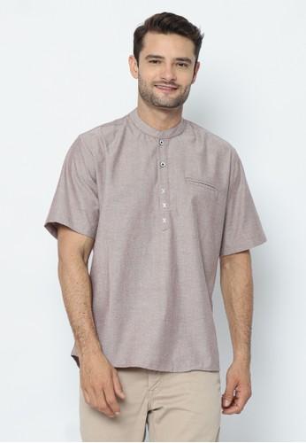 17seven Original red 17SEVEN Shortshirt KOKO-OX04-MAROON 575F1AADC5ECE0GS_1