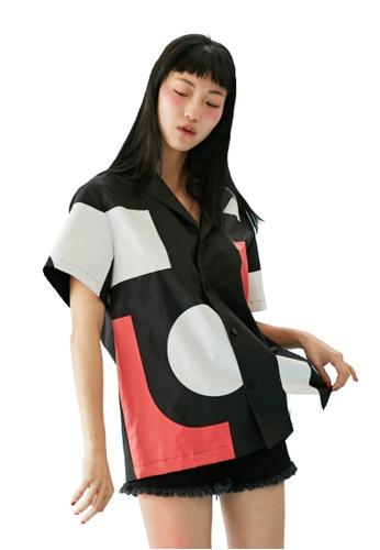 Bonnie&Blanche black Block Summer Shirt BO457AA0GII5SG_1