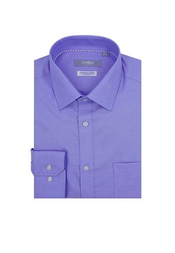 Goldlion blue Goldlion Nanotech Wrinkle Free Long-Sleeved Shirt 7C201AAE10BAB5GS_1