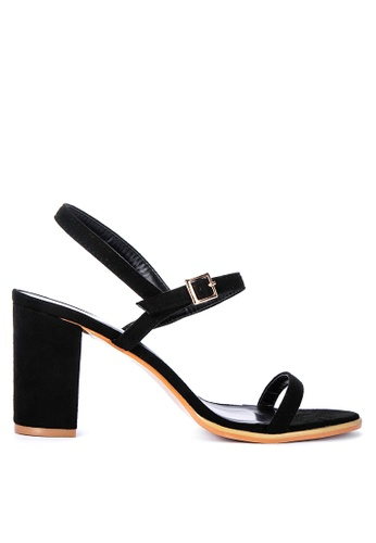 ABOUT A GIRL black Sling Back Heels 571BESHB8EED1CGS_1