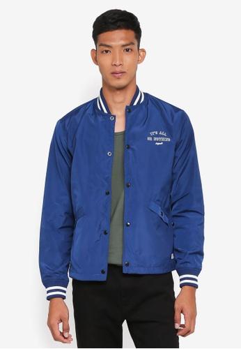 Jack & Jones blue Brace Jacket 43C48AA06FC165GS_1