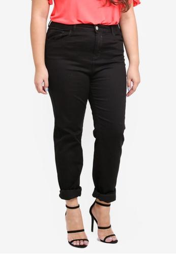 Dorothy Perkins black Plus Size Skinny Jeans Black F1766AAA86AB99GS_1