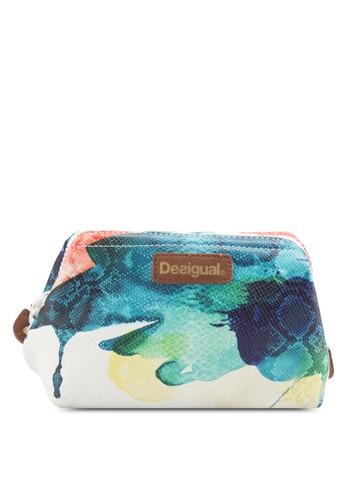 Ligero Aquarelle 水彩印花拉鍊包, zalora 衣服尺寸包, 包