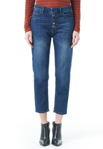 Sisley blue Denim Jeans C30ACAAF6DC2EBGS_1
