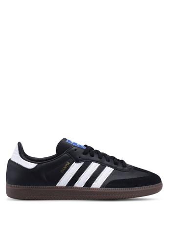 adidas black adidas Originals Samba OG Sneakers 20F1DSHCAAA357GS_1