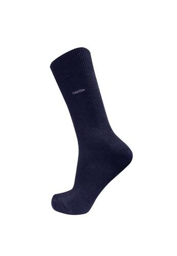 Calvin Klein Socks blue CALVIN KLEIN Casual Men Sock Signature Flat 732C3AAA23C21BGS_1