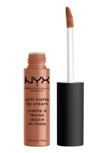 NYX Professional Makeup brown NYX Professional Makeup Soft Matte Lip Cream - CAPETOWN 89CF6BE9B45F5CGS_1