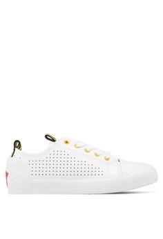 101c8ecd3a7c0 Nose black Sport Band Sneakers 724B1SHB330E6DGS 1