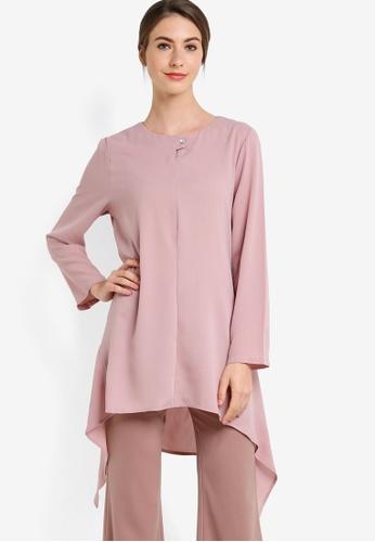 BYN pink Muslimah Blouse BY059AA19ZGEMY_1