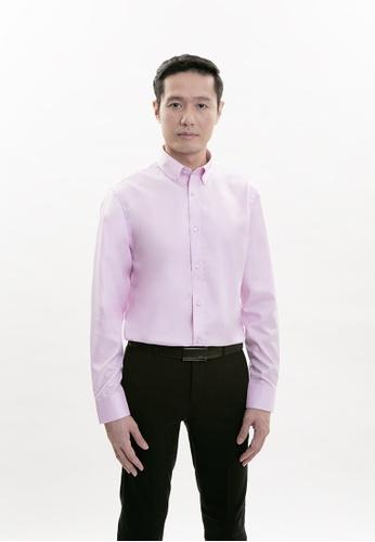 Goldlion purple Goldlion Nanotech Wrinkle Free Long-Sleeved Shirt 72BE8AAD39B8ADGS_1