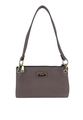 Mel&Co brown Faux Leather Shoulder Bag 5CFD6AC007A92FGS_1