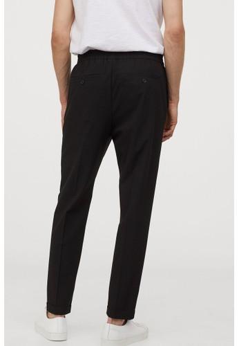 H&M black Joggers Slim Fit FF3D6AA6B1B32FGS_1