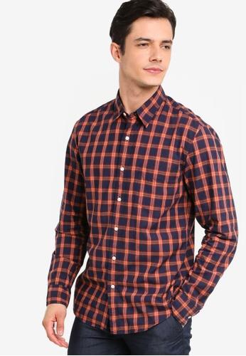 e861817f Buy J.Crew Slim Stretch Secret Wash Gary Glen Plaid Shirt | ZALORA HK