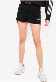 da1d3c9b7e4 adidas black adidas originals tape shorts 0246DAAFA188A1GS_1