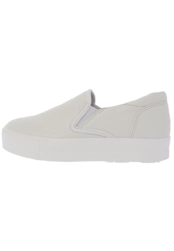Maxstar C7 30 Synthetic Leather White Platform Slip on Sneakers US Women Size MA168SH24DJZHK_1