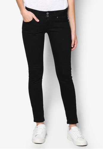 棉zalora鞋子評價質窄管牛仔長褲, 服飾, 服飾