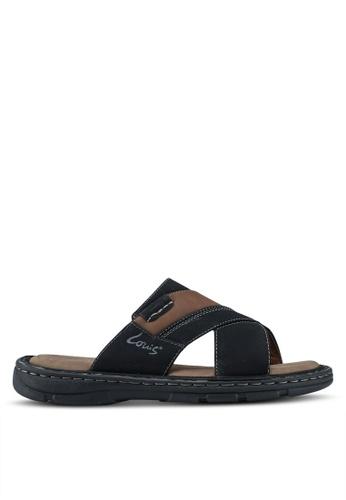 Louis Cuppers black Casual Sandals 07458SH5E070D3GS_1