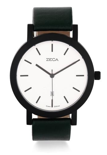 ZECA green Zeca Watches Couple Ladies Fashion - 3009L Green E0345AC2155446GS_1