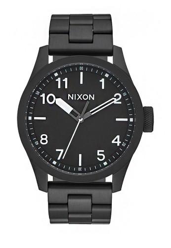 Nixon black Safari All Black/White FFD7DAC184FE30GS_1