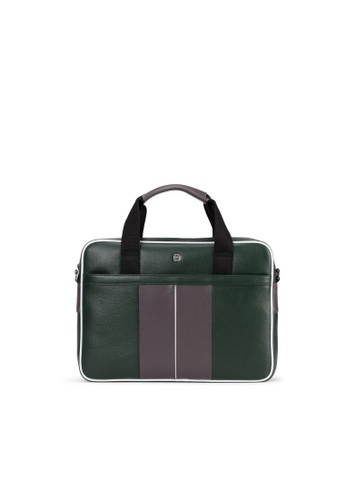 Charles Berkeley 多色 Charles Berkeley CLAYTON Men's Leather Briefcase S (PB-18140) E144EAC69D114EGS_1