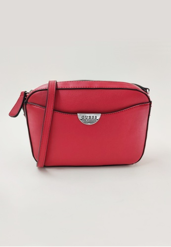 Guess red Guess Rothwell Camera Crossbody Bag 7E322ACA9F6830GS_1