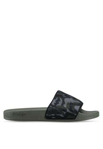 Slydes green Carter Sandals 6FA99SHBE7A023GS_1