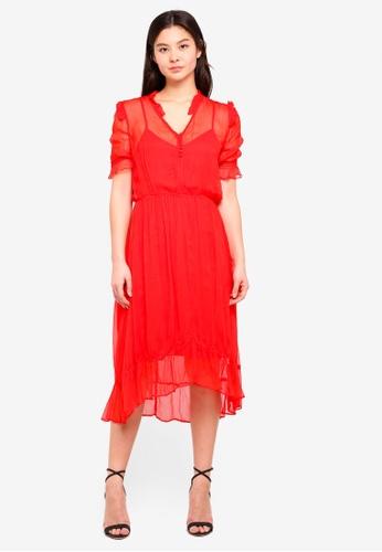 MbyM red Roca Dress 1D0B7AA39D0B4DGS_1