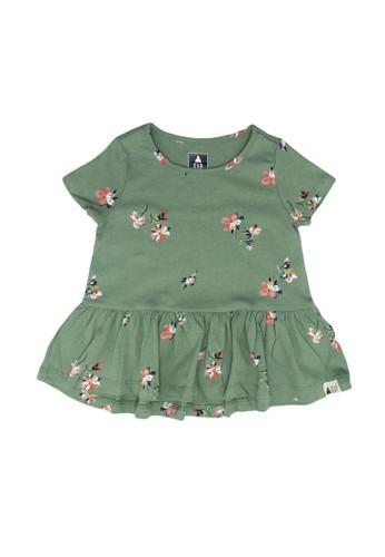 GAP green July T-Shirt 6E6DEKAA16210FGS_1