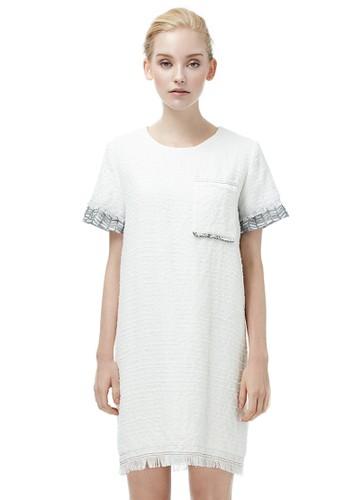 流蘇洋裝,esprit 床上用品 服飾, 短洋裝