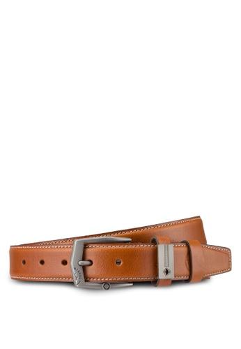 Lumberjacks brown Lumberjacks 35mm Belt LU545AC35MROMY_1