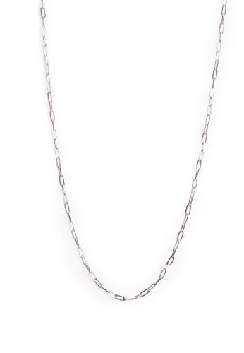 Gung Jewellery silver Isla Thin Silver Chain Necklace 9083FACB6AD46AGS_1