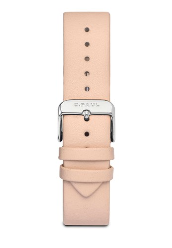 43mm 皮革錶帶esprit台灣門市, 錶類, 皮革錶帶