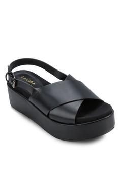 Flatform Wedge Sandals