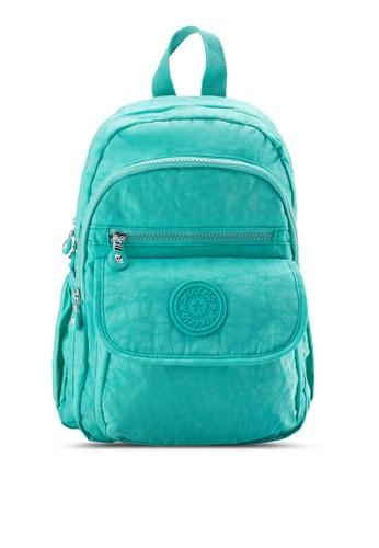 BAGSTATIONZ Mesprit 台北DS 尼龍布料波紋小型後背包, 包, 後背包