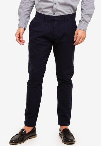 ESPRIT 海軍藍色 Denim Length Service Pants 61D6EAADA37991GS_1
