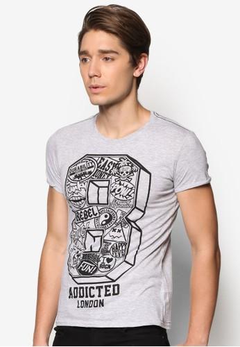 數字esprit hk分店設計TEE, 服飾, T恤