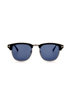 fb6b3faa1c9 Tom Ford black and blue TOM FORD FT0248 02X Sunglasses CE761GLDDB6A53GS 1