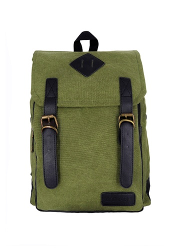 Chase Fashion green Rexen Canvas Backpack CH547AC31KMEPH_1