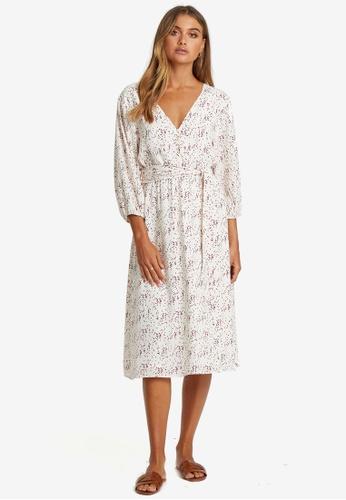 Savel white Roberta Midi Dress 2D409AA7619648GS_1