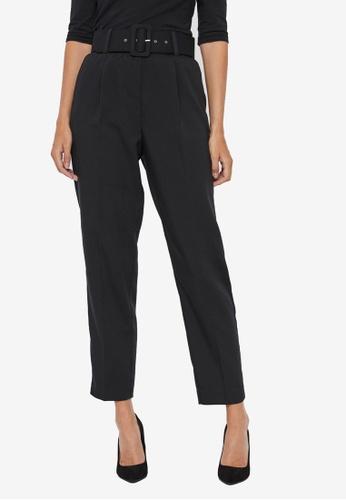 Vero Moda black Julie Ankle Pants ECF5CAAA5A84A7GS_1