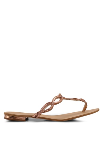 ALDO silver Thelisien Occasion Sandals D556BSH5FD096CGS_1