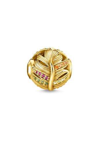 THOMAS SABO gold Karma Bead Feather Gold 84810AC27545F8GS_1