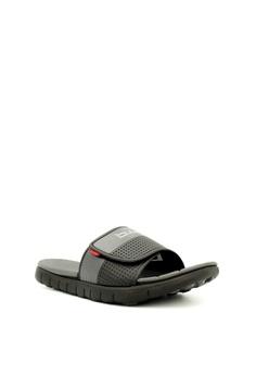 45a7a8830edc B.U.M Equipment Men Shoes B.U.M Men s Riverto Slide Sandals in Black   Grey  RM 79.90. Sizes 40 41 42 43 44