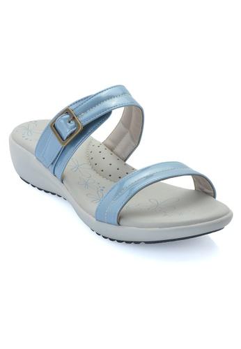 LENO blue Blukie Sandal (LS36557) LE122SH29ALQMY_1